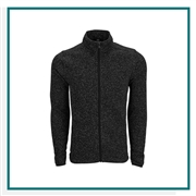 Vantage Men's Summit Sweater-Fleece Jacket with Custom Embroidery, Vantage Custom  Fleece Jackets, Vantage Custom Logo Gear