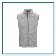 Vantage Men's Summit Sweater-Fleece Vest with Custom Embroidery, Vantage Custom Vests, Vantage Custom Logo Gear