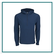 Vantage Men's Pullover Stretch Anorak with Custom Embroidery, Vantage Custom Pullovers, Vantage Custom Logo Gear
