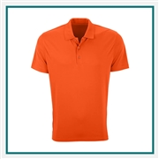 Vansport Men's Omega Solid Mesh Tech Polo with Custom Embroidery, Vansport Custom Polos, Vansport Custom Logo Gear