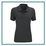 Vansport Women's Omega Solid Mesh Tech Polo Corporate Logo