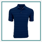 Vansport Men's Strata Textured Polo with Custom Embroidery, Vansport Custom Polos, Vansport Custom Logo Gear