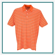 Vansport Men's Tour Stripe Polo Corporate Logo