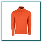 Vansport Men's Mesh 1/4-Zip Tech Pullover with Custom Embroidery, Vansport 3405 Custom Embroidered, Custom Embroidered Vansport Pullovers, Vansport Custom Apparel