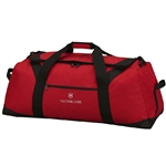 Victorinox Large Travel Duffel Bag 31375503 with Custom Laser Engraving/Digital Print/Embroidery, Victorinox Custom Duffel Bags, Victorinox Corporate Logo Gear