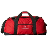Victorinox Extra-Large Travel Duffel Bag 31375601 with Custom Laser Engraving/Digital Print/Embroidery, Victorinox Custom Duffel Bags, Victorinox Corporate Logo Gear
