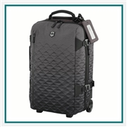 Victorinox Vx Touring Global Carry-On 601476 with Custom Laser Engraving/Digital Print/Embroidery, Victorinox Custom Carry-On Bags, Victorinox Corporate Logo Gear