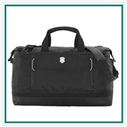 Victorinox Werks Traveler 6.0 XL Weekender Tote Bag 605593 with Custom Laser Engraving/Digital Print/Embroidery, Victorinox Custom Duffel Bags, Victorinox Corporate Logo Gear