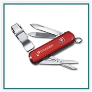 "Victorinox Nail Clip 580 2.56"" / 65mm Swiss Army Knife 6463 Corporate Logo"
