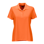 Greg Norman Women's Play Dry Performance Mesh Polo Custom Embroidered