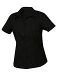 Clique Ladies' Extended Size S/S Caitlin Twill Shirt WNW00004, Clique Promotional Shirts, Clique Custom Logo