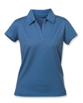 Clique Ladies Extended Size Fairfax Polo WQK00007 Custom Embroidered