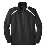 Sport-Tek Men's 1/2 Zip Wind Shirt JST75, Sport-Tek Promotional Wind Shirts, Sport-Tek Custom Logo