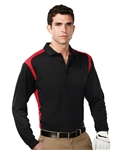 Tri Mountain Blitz Long Sleeve Polo, Tri Mountain Custom Polos, Promo Polos