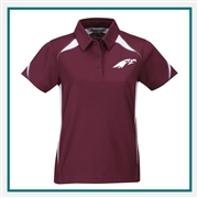 Tri Mountain Lady Lightning Polo, Tri Mountain Custom Polos, Promo Polos