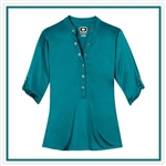 OGIO Ladies Crush Henley Shirt with Custom Embroidery, OGIO Custom Shirts, OGIO Corporate & Group Sales