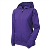 Sport-Tek Ladies Colorblock Hooded Raglan Jacket LST650, Sport-Tek Promotional Jackets, Sport-Tek Custom Logo