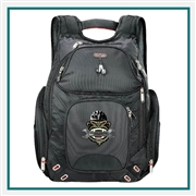 Elleven Amped Checkpoint-Friendly Backpack embroidered, Elleven Custom Logo,  Elleven Corporate Backpacks