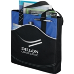 Boomerang Business Tote 3251-04 Custom Silkscreened