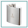 Zippo 8 Oz Stainless Steel Flask Custom Logo