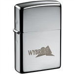 Zippo High Polished Chrome Lighter 7550-17 Custom
