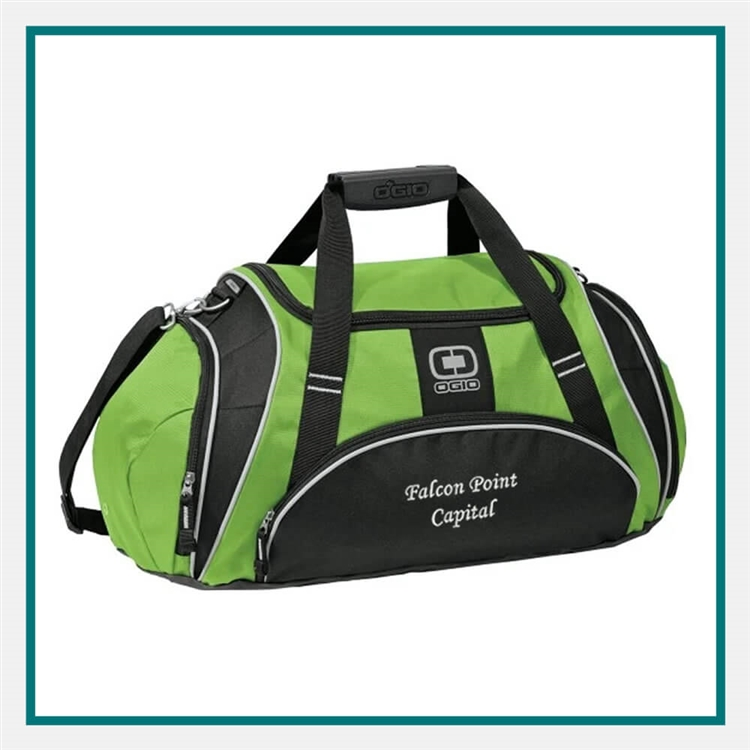 OGIO Crunch Duffel Bag 108085 Custom Embroidered