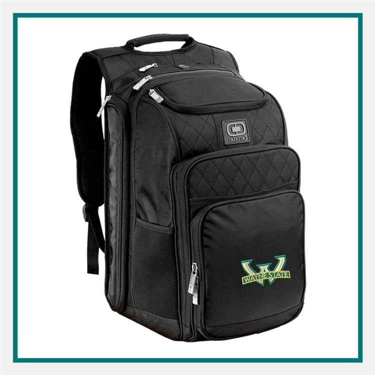OGIO Epic Backpack 108090 with Custom Embroidery, OGIO Custom Backpacks, OGIO Corporate Logo Gear
