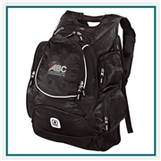 OGIO Bounty Hunter Backpack 108105 with Custom Embroidery, OGIO Custom Backpacks, OGIO Promotional Backpacks