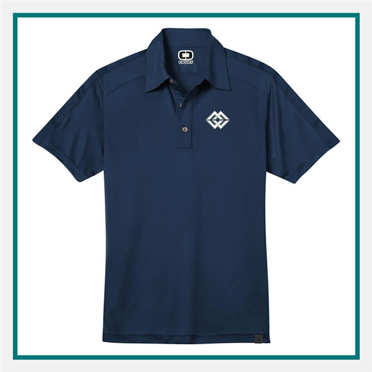 OGIO Men's Hybrid Polo with Custom Embroidery, OGIO Branded Polos, OGIO Promotional Polos