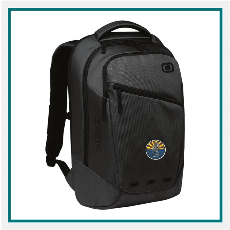 OGIO Ace Pack Backpack 411061 with Custom Embroidery, OGIO Custom Backpacks, OGIO Branded Bakcpacks