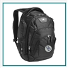 OGIO Stratagem Backpack 411067 with Custom Embroidery, OGIO Branded Backpacks, OGIO Promotional Backpacks