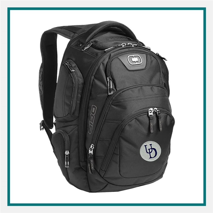 OGIO Stratagem Backpack 411067 with Custom Embroidery, OGIO Custom Backpacks, OGIO Corporate Logo Gear