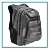 OGIO Excelsior Backpack 411069 with Custom Embroidery, OGIO Custom Backpacks, OGIO Corporate Logo Gear