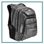 OGIO Excelsior Backpack 411069 with Custom Embroidery, OGIO Promotional Backpacks, OGIO Corporate & Group Sales