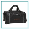 OGIO Hamblin 22 Wheeled Duffel Bag 413009 with Custom Embroidery, OGIO Custom Duffel Bags, OGIO Corporate Logo Gear