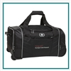 OGIO Hamblin 30 Wheeled Duffel Bag 413010 Custom Embroidered, OGIO Branded Duffel Bags, OGIO Promotional Luggage