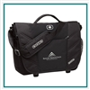 OGIO Upon Messenger Bag 417015 with Custom Embroidery, OGIO Custom Messenger Bags, OGIO Corporate Logo Gear