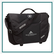 OGIO Upon Messenger Bag 417015 with Custom Embroidery, OGIO Promotional Messenger Bags, OGIO Corporate Messenger Bags