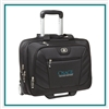 OGIO Lucin Wheeled Briefcase bag 417018 with Custom Embroidery, OGIO Custom Briefcase bags, OGIO Corporate Logo Gear