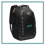 OGIO Pursuit Pack 417054 with Custom Embroidery, OGIO Promotional Backpacks, OGIO Corporate Logo Gear
