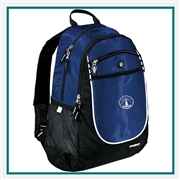 OGIO Carbon Backpack 711140 with Custom Embroidery, OGIO Custom Backpacks, OGIO Corporate Logo Gear