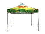 10 x 10 Steel Popup Canopy Full Color Custom