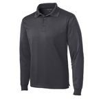 Sport-Tek LS Micropique Polo Embroidered