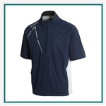 Sunice Men's Sullivan Zephal Flextech Waterproof Ultra-Stretch Short Sleeve Pullover S42007, Sunice Branded Pullovers, Sunice Corporate & Group Sales