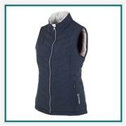 Sunice Women's Maci Climaloft Lightweight Thermal Reversible Vest, Sunice Embroidered Golf Apparel, Sunice Corporate Apparel Suppliers, Sunice Apparel Best Price