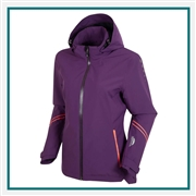 Sunice Ladies' Robin Zephal Z-Tech Waterproof Ultra-Stretch Woven Hooded Jacket, Sunice Embroidered Golf Apparel, Sunice Corporate Apparel Suppliers, Sunice ASI Supplier, Sunice Apparel Best Price