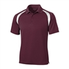 Sport-Tek Men's Dry Zone Colorblock Raglan Polo T476 with Custom Embroidery, Sport-Tek T476 Custom Embroidered, Sport-Tek T476 Custom Logo, Promotional Sport-Tek Polo Shirts