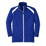 Sport-Tek Youth Tricot Track Jacket Custom