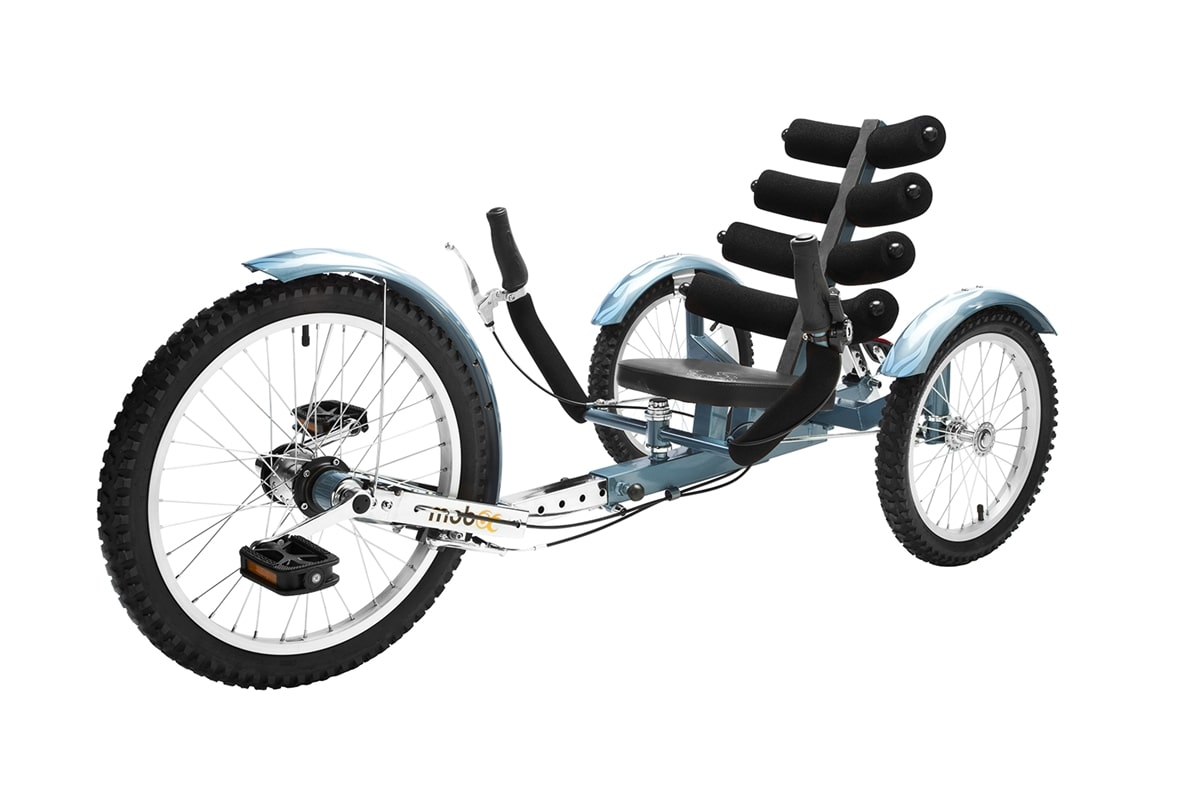 "Mobo Shift 20/"" 3 WHEEL Trike Tricycle RECUMBENT Cruiser Bike with reverse Black"