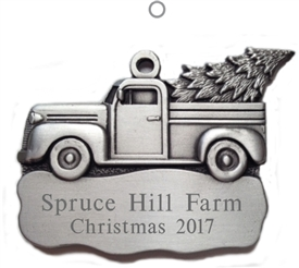 Pickup Truck Ornament